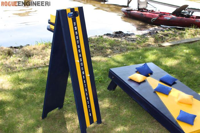 Best ideas about DIY Cornhole Plans . Save or Pin Cornhole Scoreboard Rogue Engineer Now.