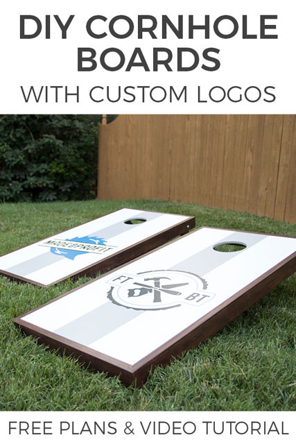 Best ideas about DIY Cornhole Plans . Save or Pin How to Make DIY Cornhole Boards I FREE Easy Plans Now.