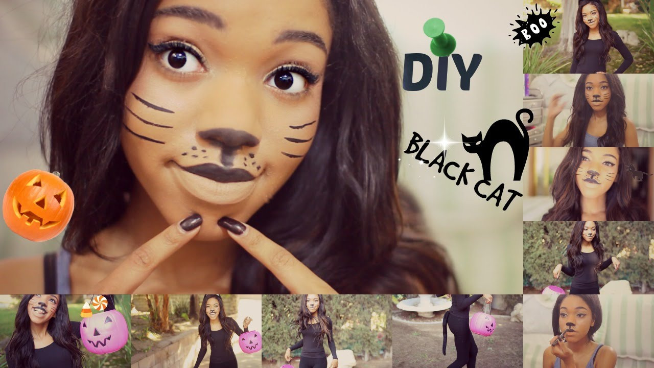 Best ideas about DIY Costume For Cats . Save or Pin DIY Halloween CAT Costume Now.