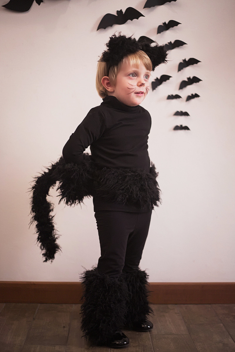Best ideas about DIY Costume For Cats . Save or Pin Halloween kids costumes black cat part I Fannice Kids Now.