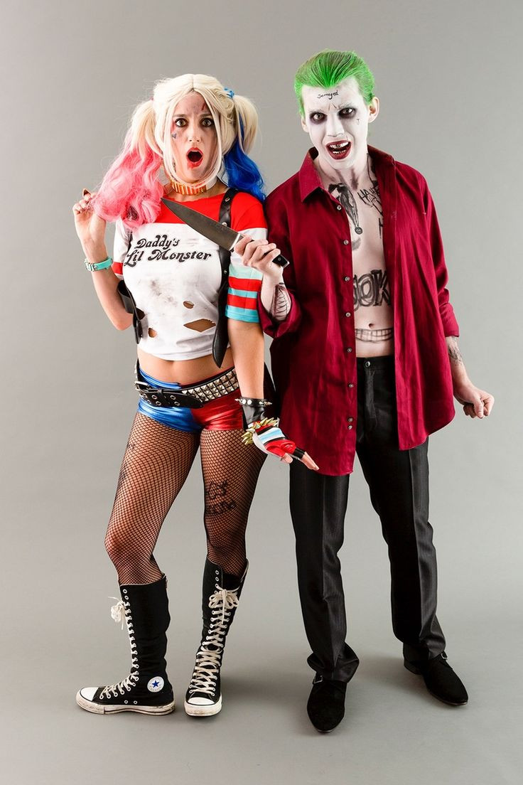 Best ideas about DIY Costumes 2019 . Save or Pin halloween harley quinn joker costume Now.