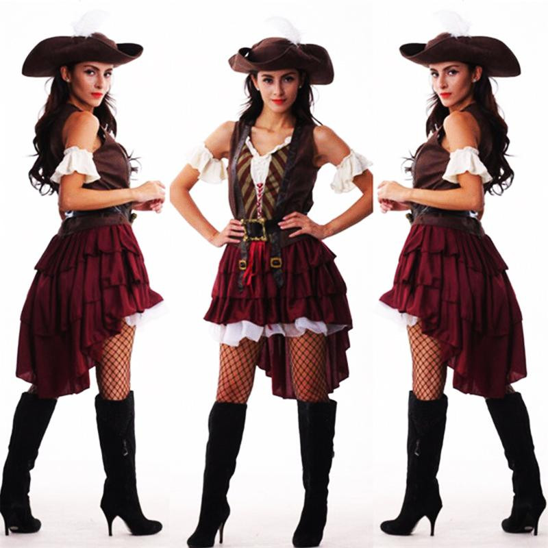 Best ideas about DIY Costumes 2019 . Save or Pin 2019 New y Women Pirate Costume Halloween Fancy Party Now.