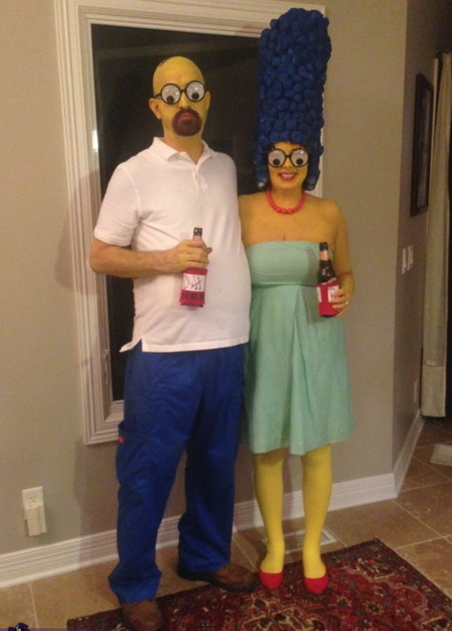 Best ideas about DIY Costumes For Couples . Save or Pin 120 Creative DIY Couples Costumes for Halloween Now.