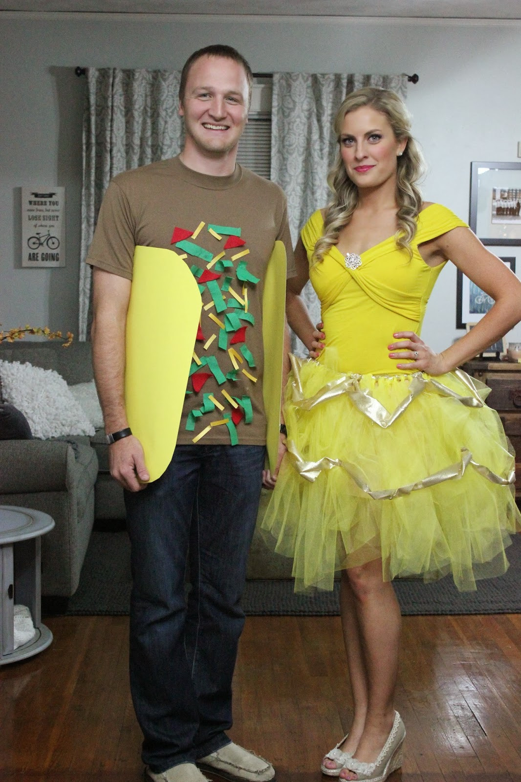 Best ideas about DIY Costumes For Couples . Save or Pin Katie in Kansas DIY Couples Halloween Costume Ideas Now.