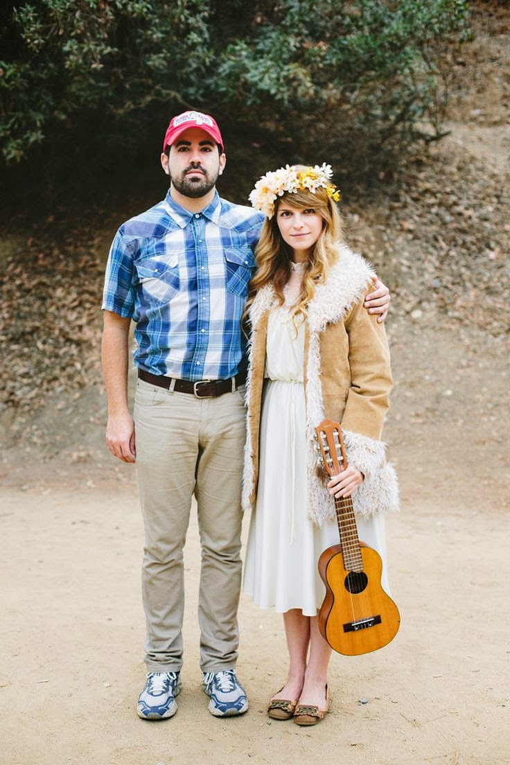 Best ideas about DIY Costumes For Couples . Save or Pin NewlyWifed Couple & Family Halloween Costume Ideas Now.
