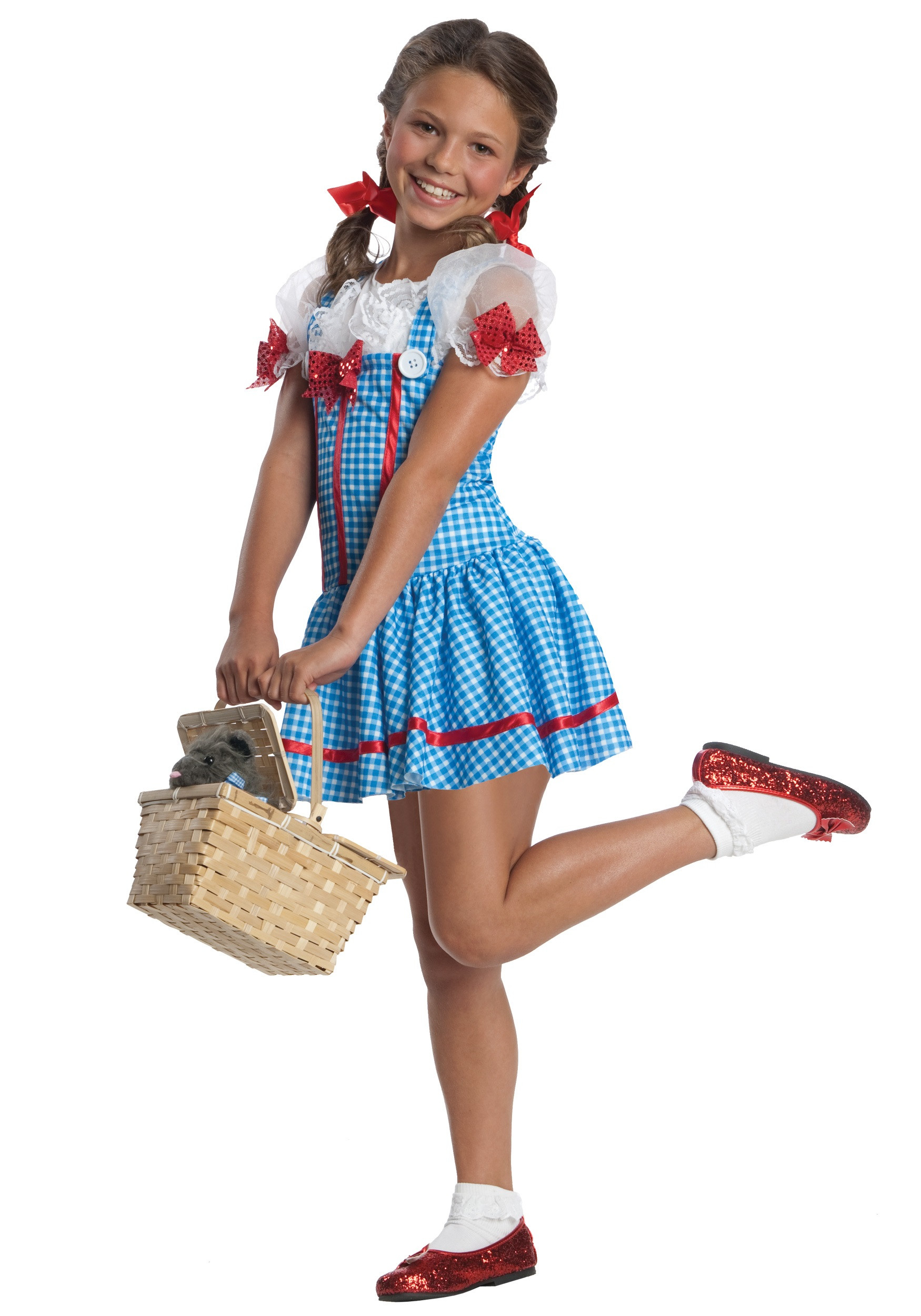 Best ideas about DIY Costumes For Girls . Save or Pin Girls Dorothy Costume Now.