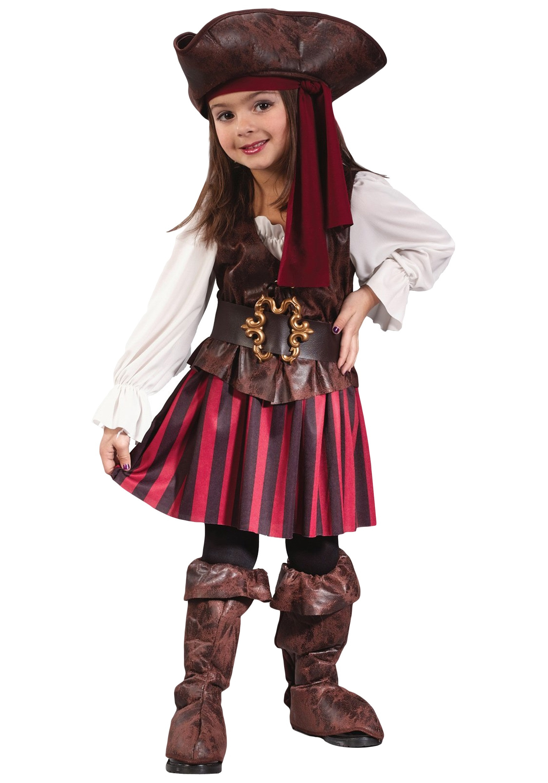 Best ideas about DIY Costumes For Girls . Save or Pin Caribbean Toddler Pirate Girl Costume Now.