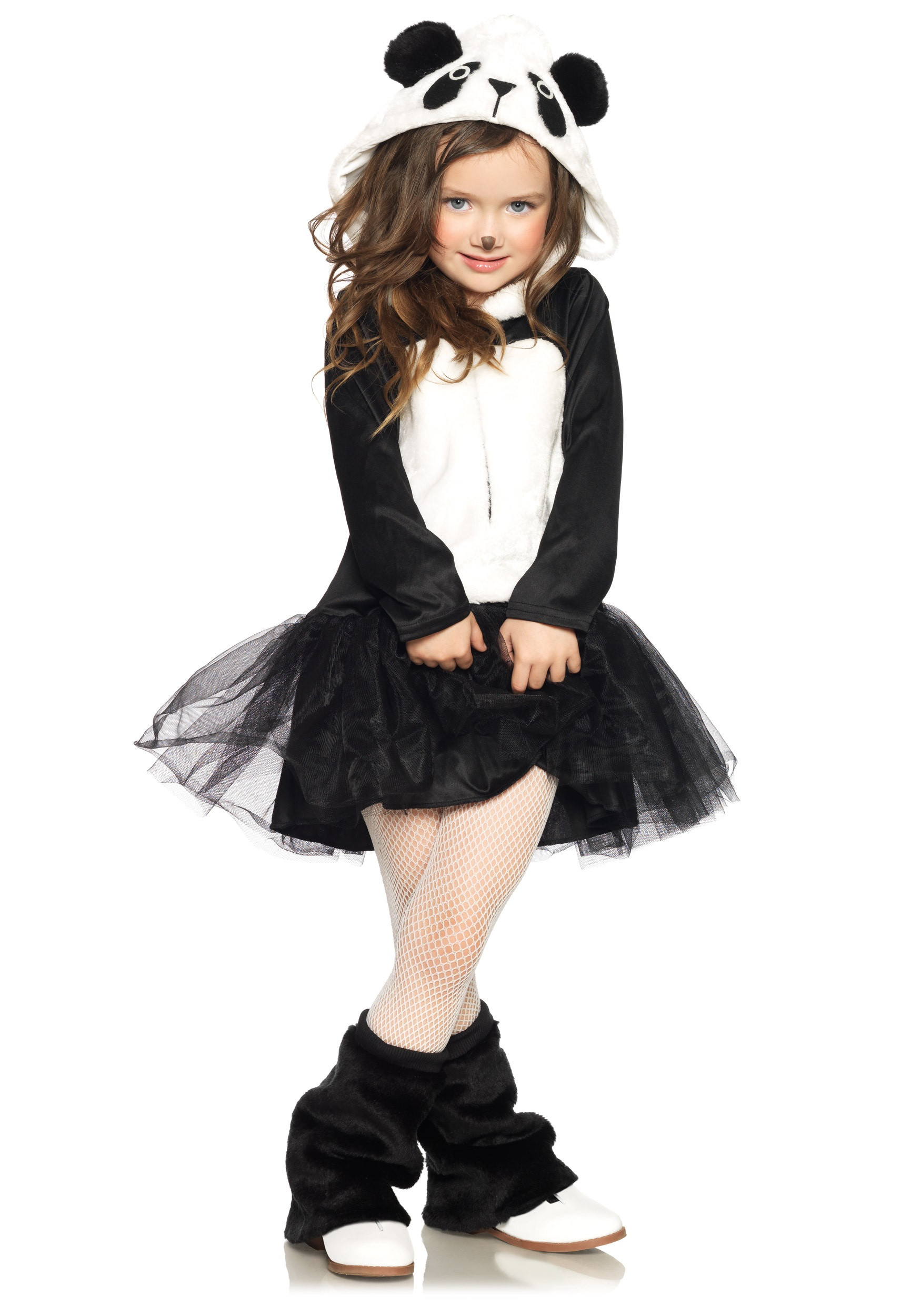 Best ideas about DIY Costumes For Girls . Save or Pin Girls Pretty Panda Bear Costume Now.
