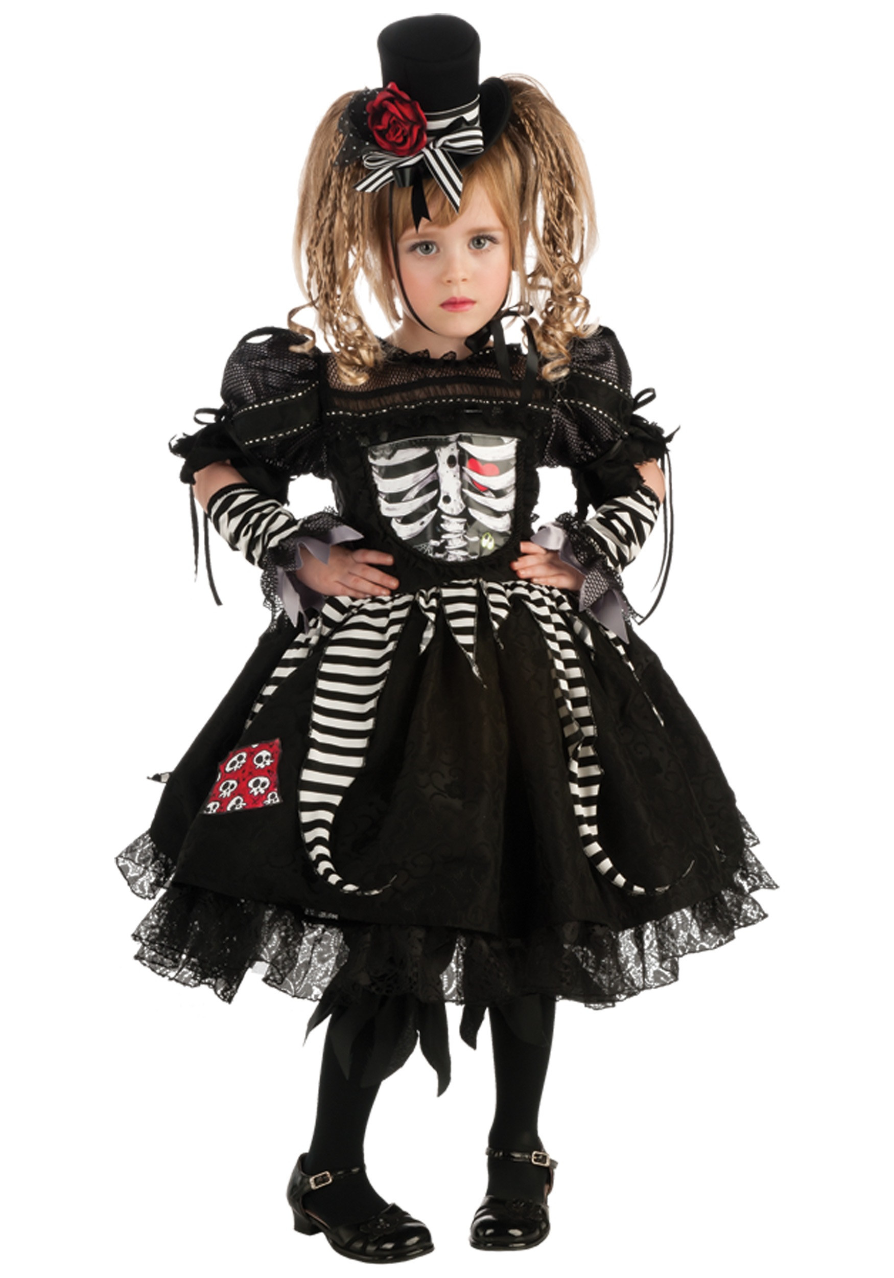 Best ideas about DIY Costumes For Girls . Save or Pin Girls Bones Costume Now.