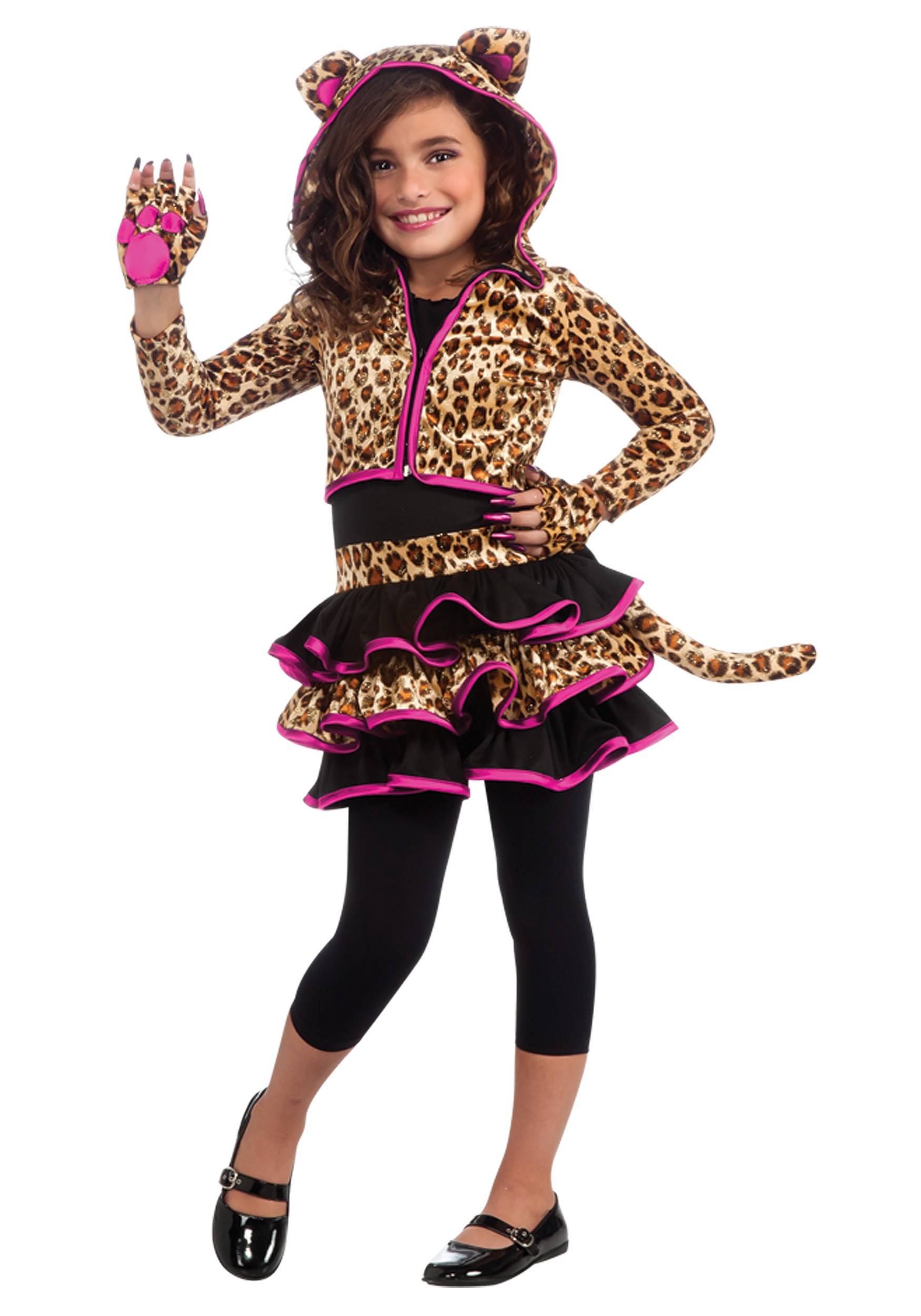 Best ideas about DIY Costumes For Girls . Save or Pin Girls Leopard Hoo Costume Animals Costumes Kids Costumes Now.