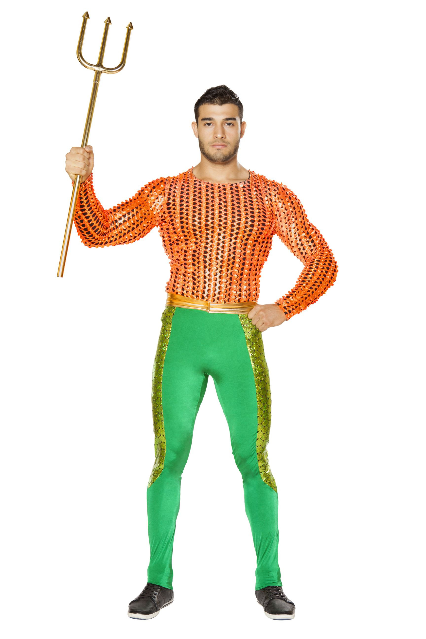Best ideas about DIY Costumes Men . Save or Pin Adult Oceans Protector Men Neptune Costume $135 99 Now.