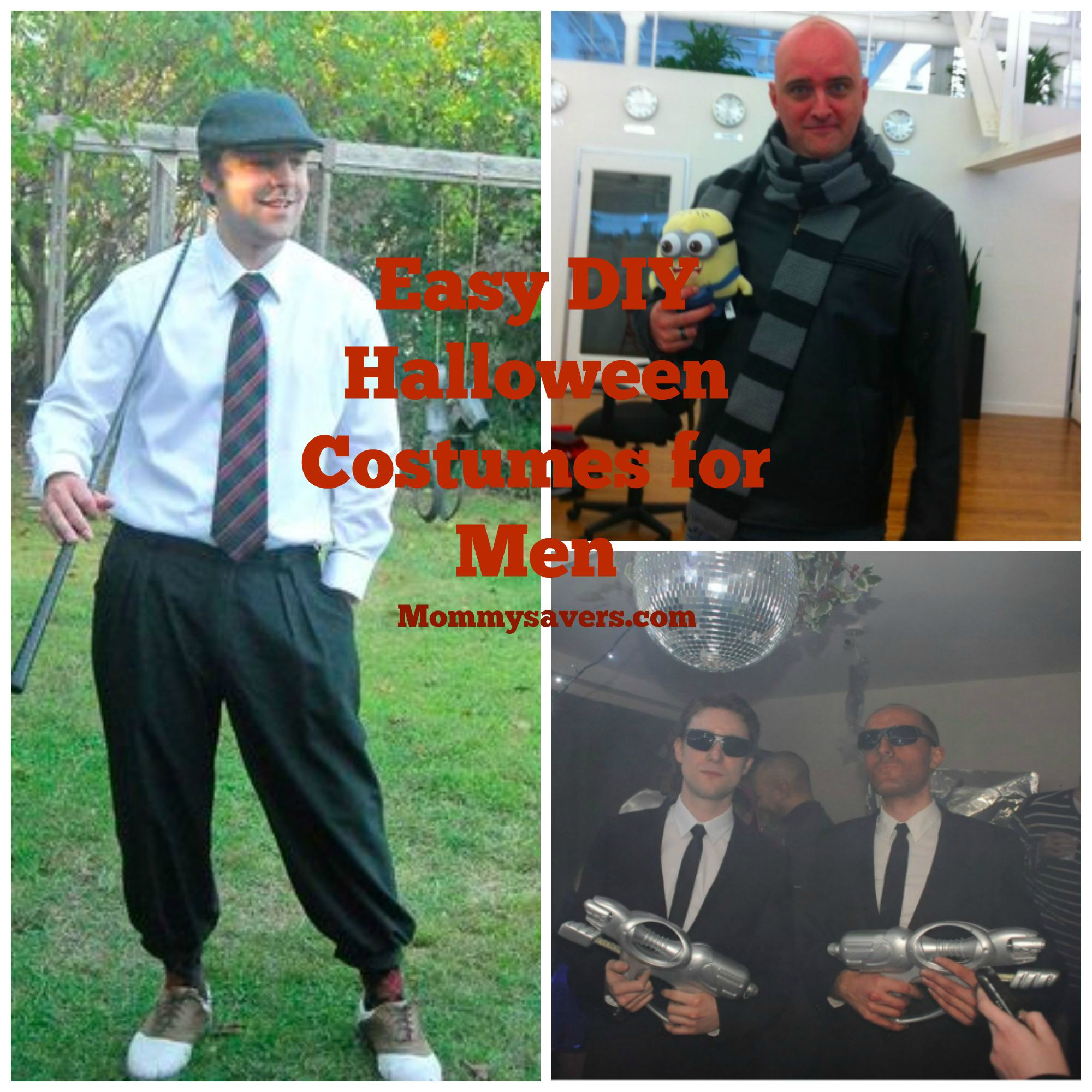 Best ideas about DIY Costumes Men . Save or Pin DIY Easy Halloween Costume Ideas for Men Mommysavers Now.