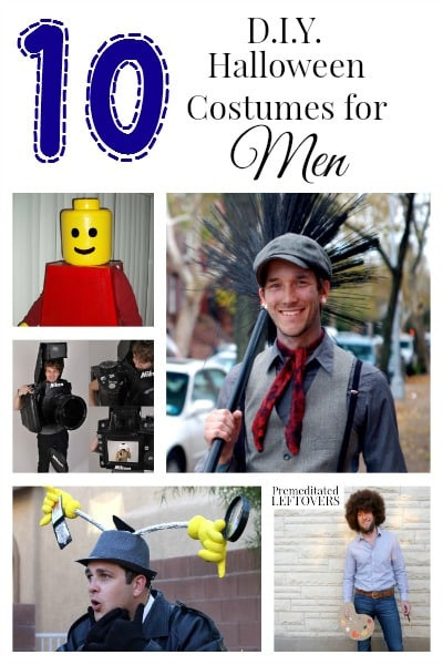 Best ideas about DIY Costumes Men . Save or Pin 10 DIY Halloween Costumes for Men Now.