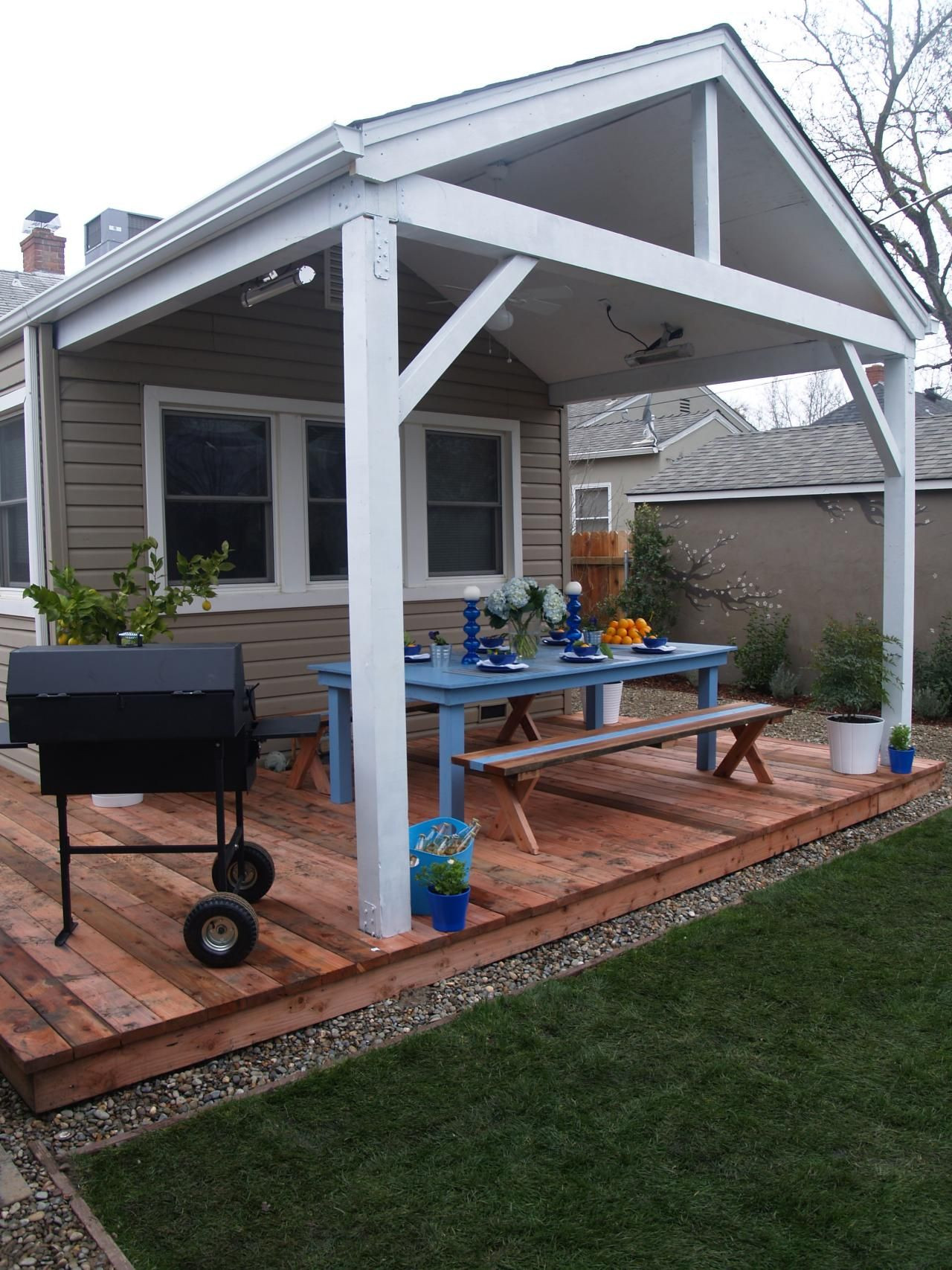 Best ideas about DIY Covered Patio Plans . Save or Pin Beautiful Decks Designed by DIY Network Experts Now.