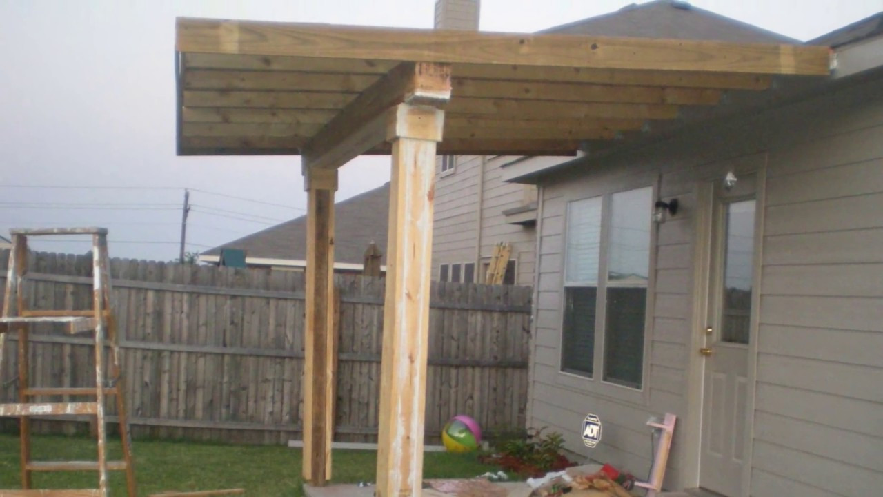 Best ideas about DIY Covered Patio Plans . Save or Pin How To Build a Patio Cover must watch Now.