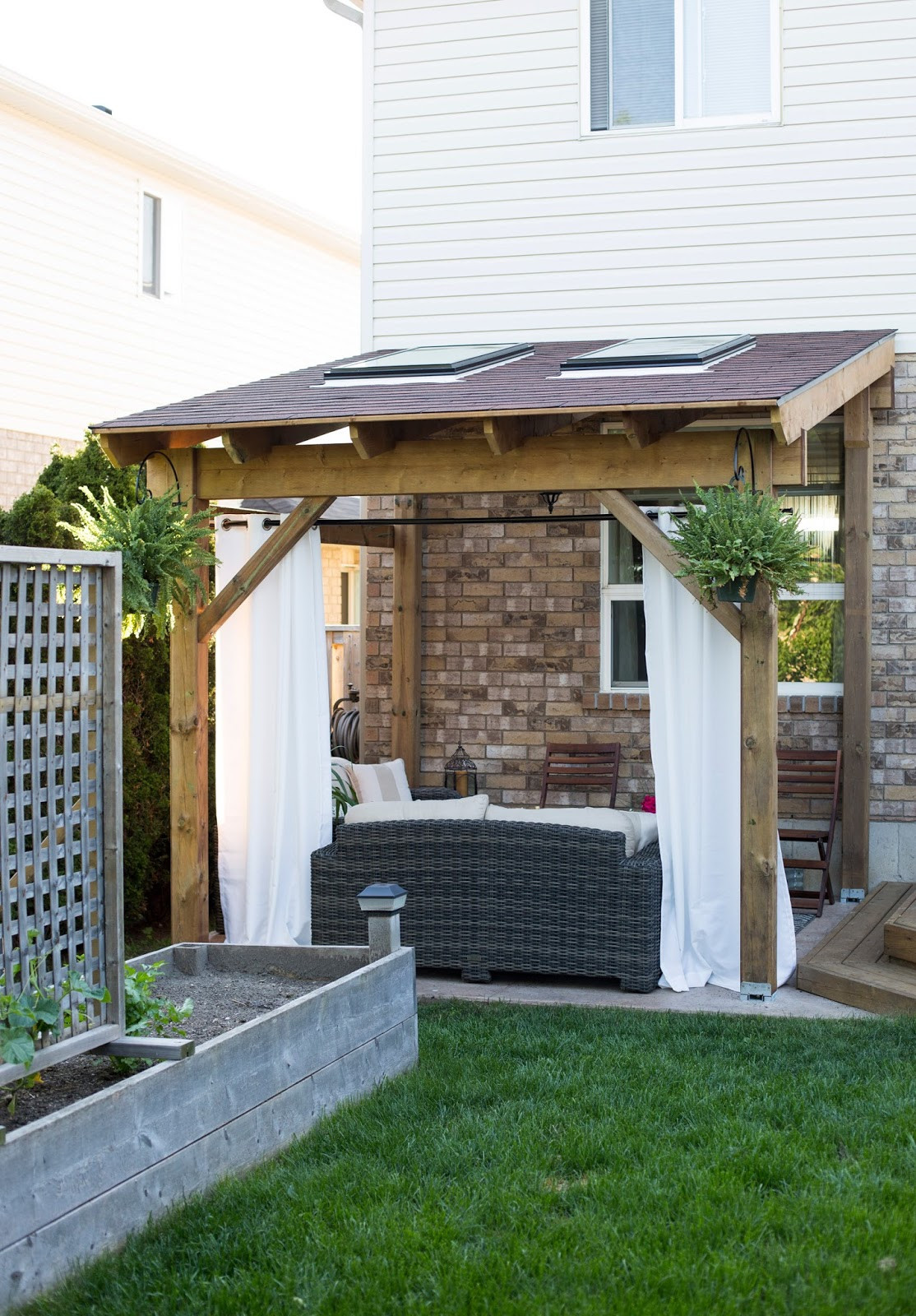 Best ideas about DIY Covered Patio Plans . Save or Pin HDBlogSquad How to Build a Covered Patio Brittany Stager Now.