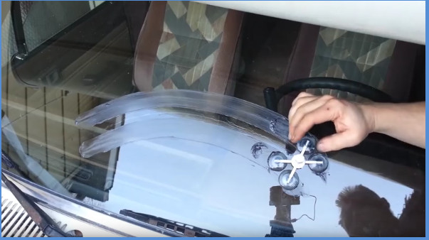 Best ideas about DIY Cracked Windshield . Save or Pin [Video] Repairing A Cracked Windshield Right In Your Own Now.