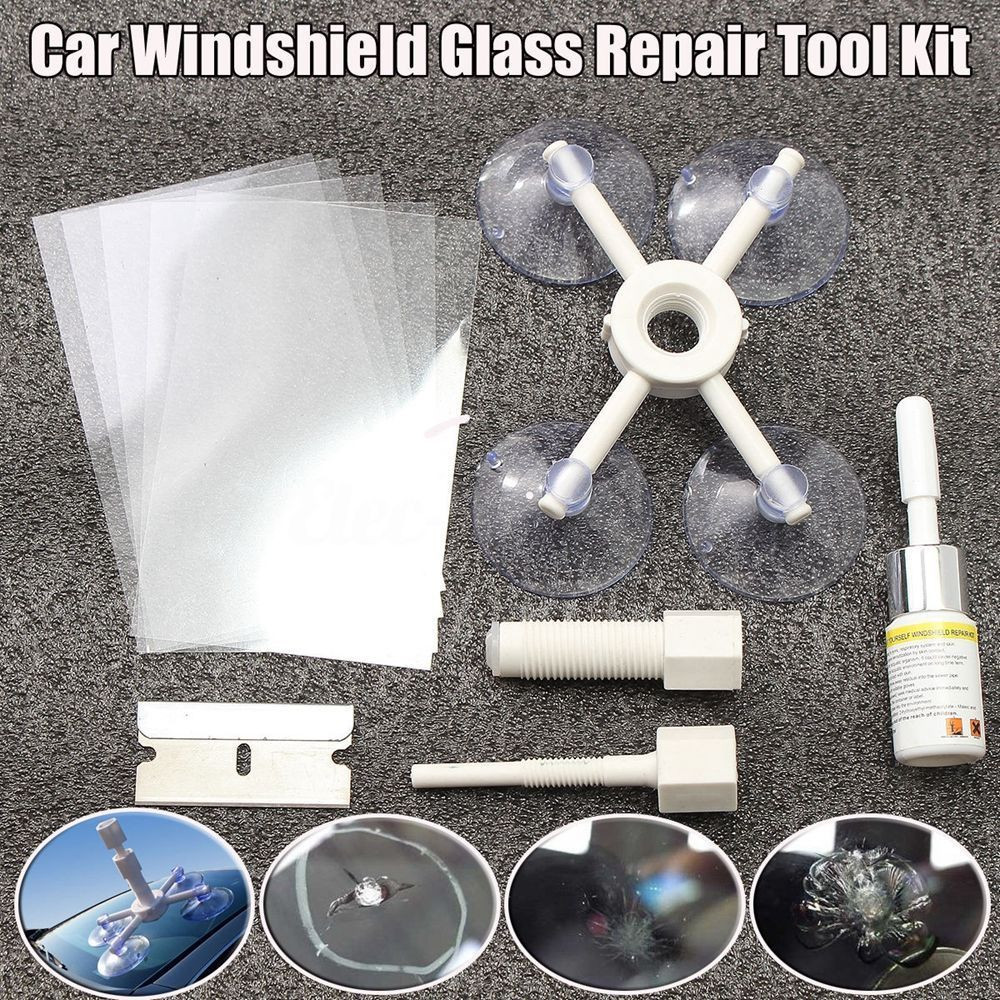 Best ideas about DIY Cracked Windshield . Save or Pin Car Window Glass Crack Chip Resin Windscreen Windshield Now.