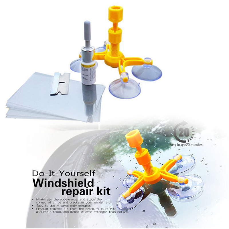 Best ideas about DIY Cracked Windshield . Save or Pin DIY Glass Crack Repair Kit LiZZLY Now.
