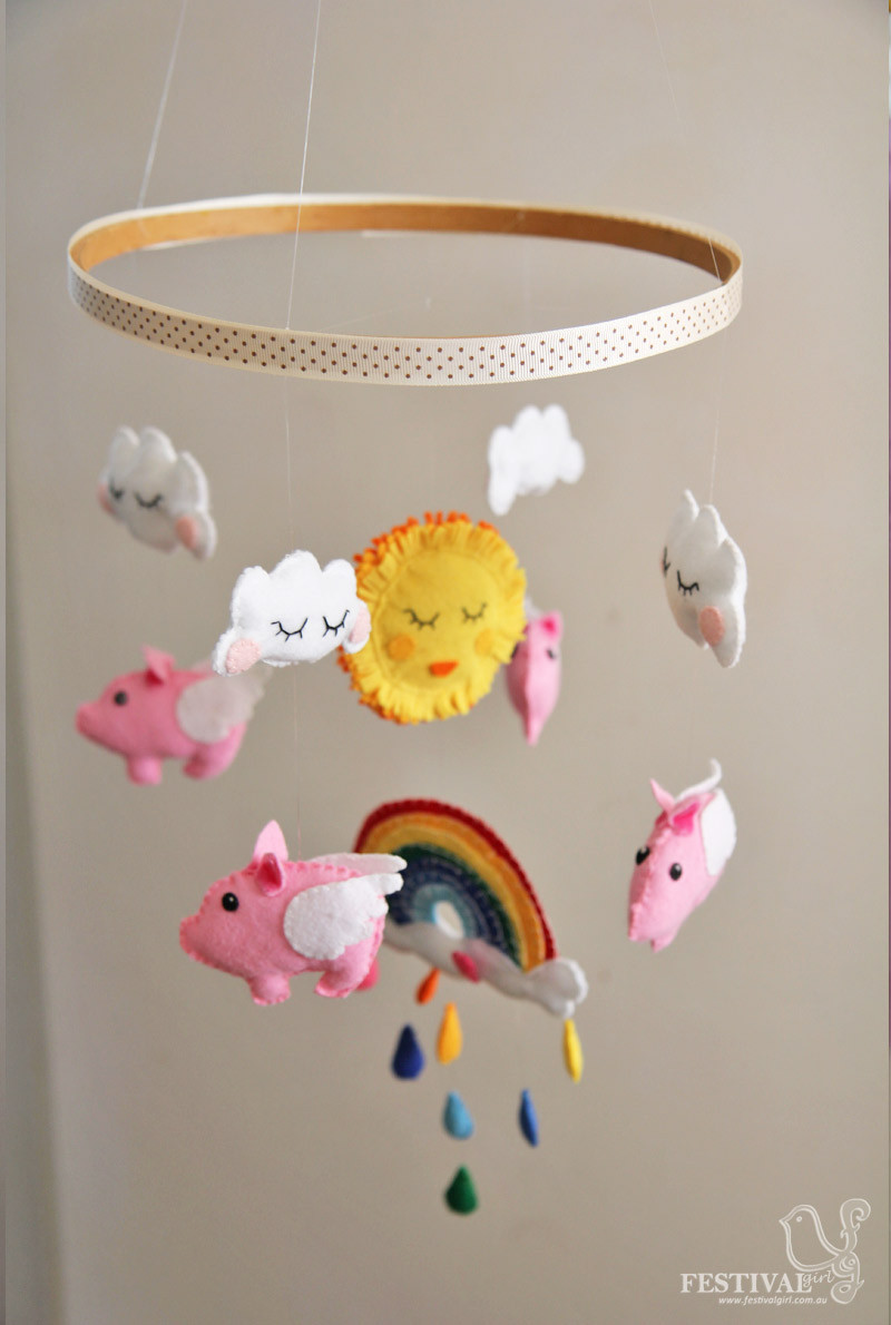 Best ideas about DIY Crib Mobiles . Save or Pin 35 Adorable and Stylish DIY Baby Mobiles Now.