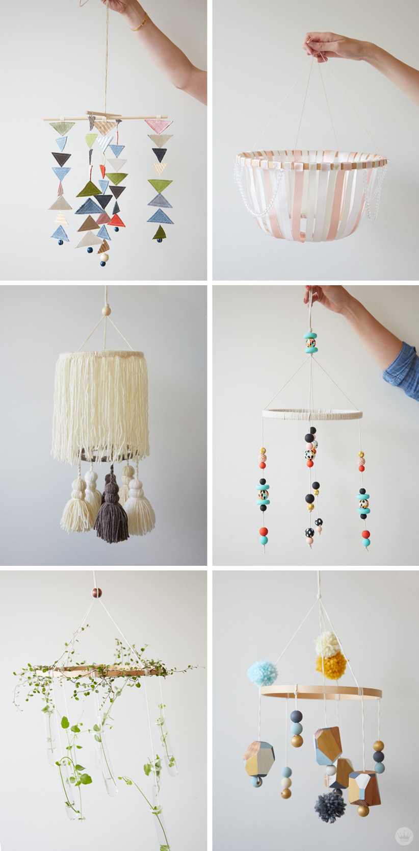 Best ideas about DIY Crib Mobiles . Save or Pin DIY Embroidery Hoop Baby Mobile Think Make Now.