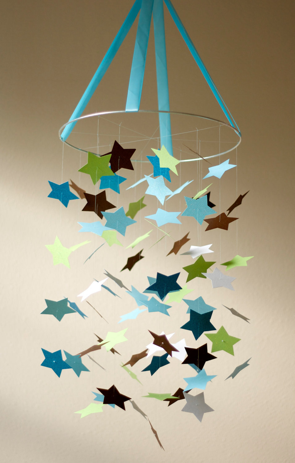Best ideas about DIY Crib Mobiles . Save or Pin Baby Boy STAR Mobile KIT DIY Great Craft Project Now.