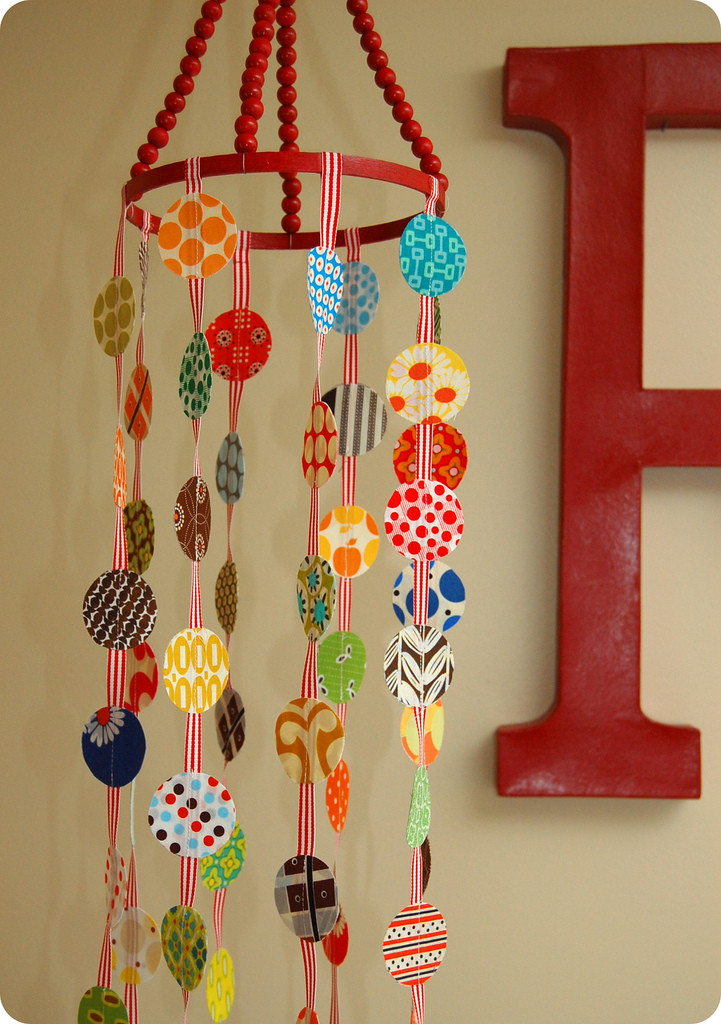 Best ideas about DIY Crib Mobiles . Save or Pin For the love of polka dots – a crib mobile tutorial Now.