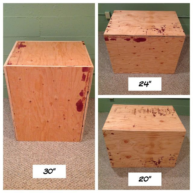 Best ideas about DIY Crossfit Box . Save or Pin 1000 images about CrossFit Plyo Box Workouts on Pinterest Now.