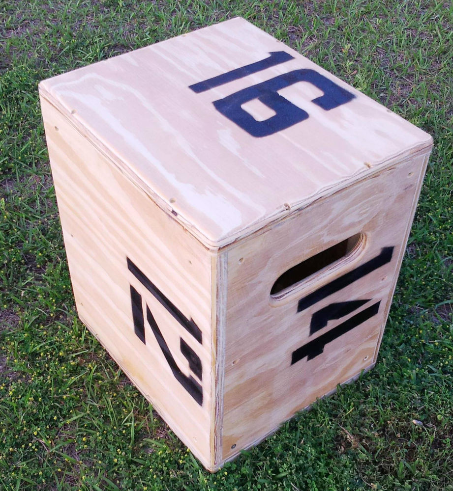 Best ideas about DIY Crossfit Box . Save or Pin Plyo jump Crossfit plyometric box 16 X 14 X 12 Now.