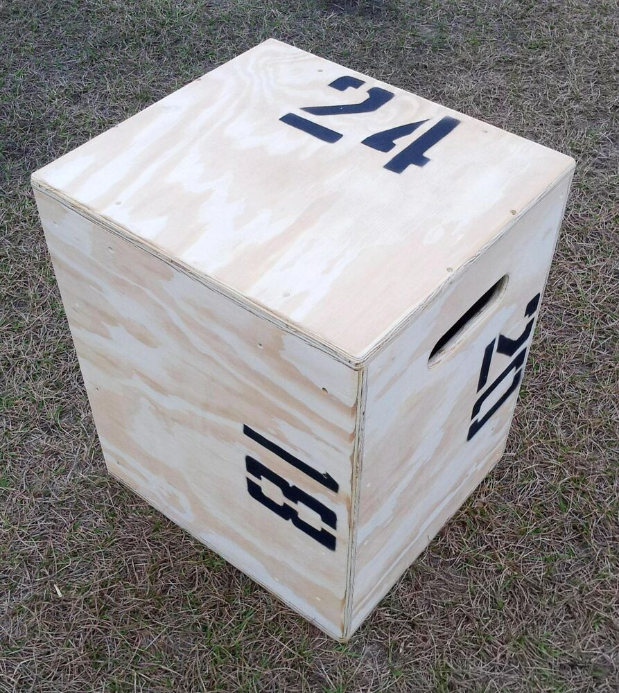 Best ideas about DIY Crossfit Box . Save or Pin 24X20X18 Plyo box Plyo jump Crossfit plyometric box Now.