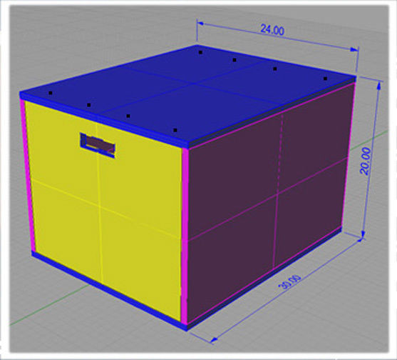 """Best ideas about DIY Crossfit Box . Save or Pin DIY PLYO BOX 20"""" 24"""" 30"""" DETAILED PLANS CROSSFIT JUMP Now."""