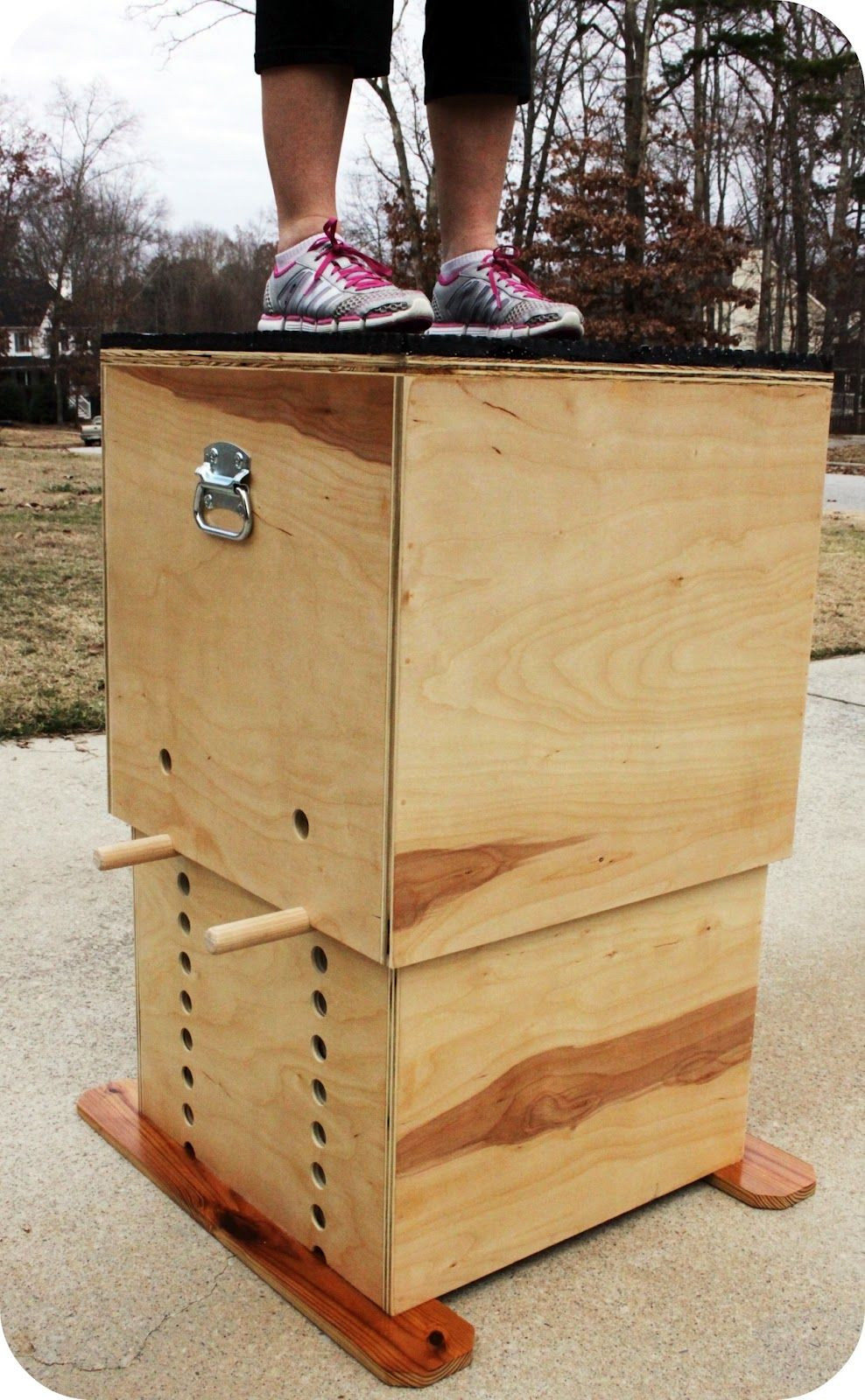 Best ideas about DIY Crossfit Box . Save or Pin TrendyToolbox ADJUSTABLE WOODEN PLYO BOX Now.