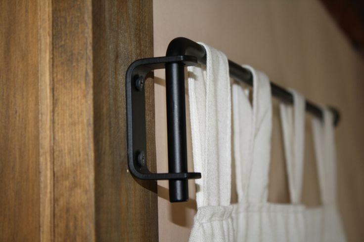 Best ideas about DIY Curtain Rod Bracket . Save or Pin Best 25 Curtain rod brackets ideas on Pinterest Now.