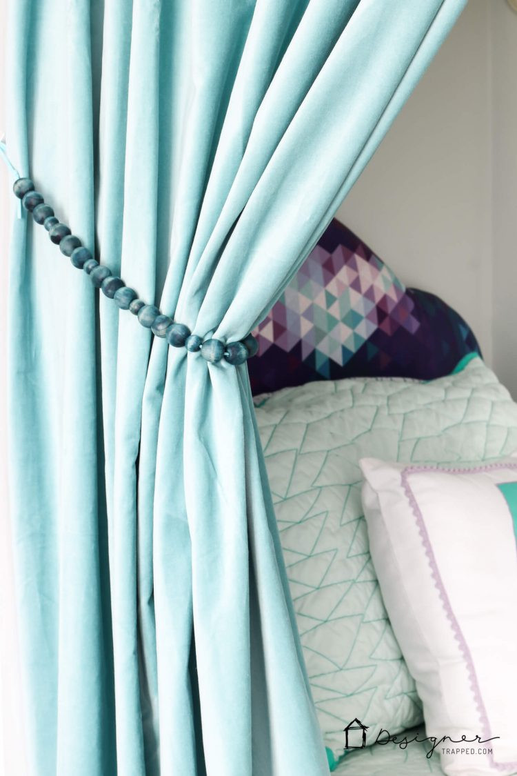 Best ideas about DIY Curtain Tie Back . Save or Pin Quick and Easy DIY Curtain Tie Backs Now.