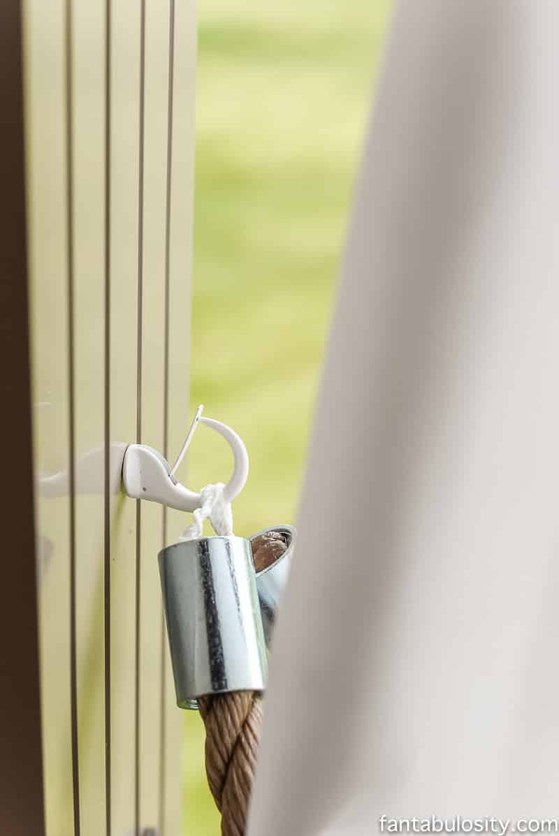 Best ideas about DIY Curtain Tie Back . Save or Pin DIY Patio Curtain Tie Backs for $5 00 Rustic Nautical Now.