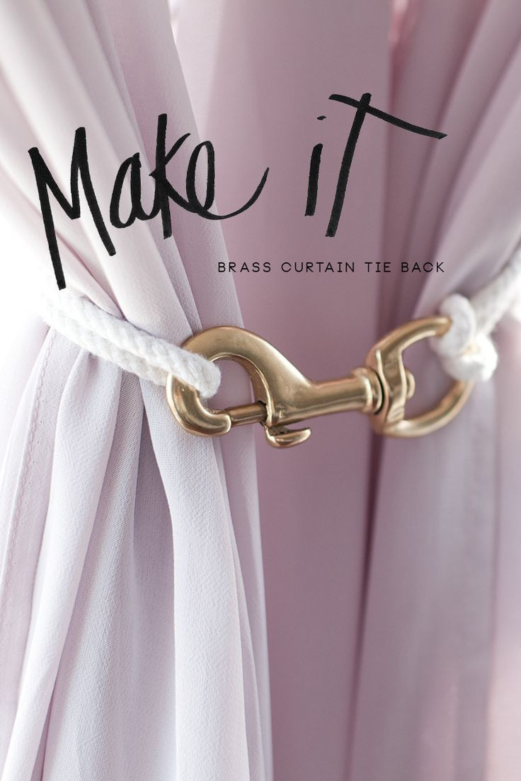 Best ideas about DIY Curtain Tie Back . Save or Pin 25 best ideas about Curtain tie backs on Pinterest Now.