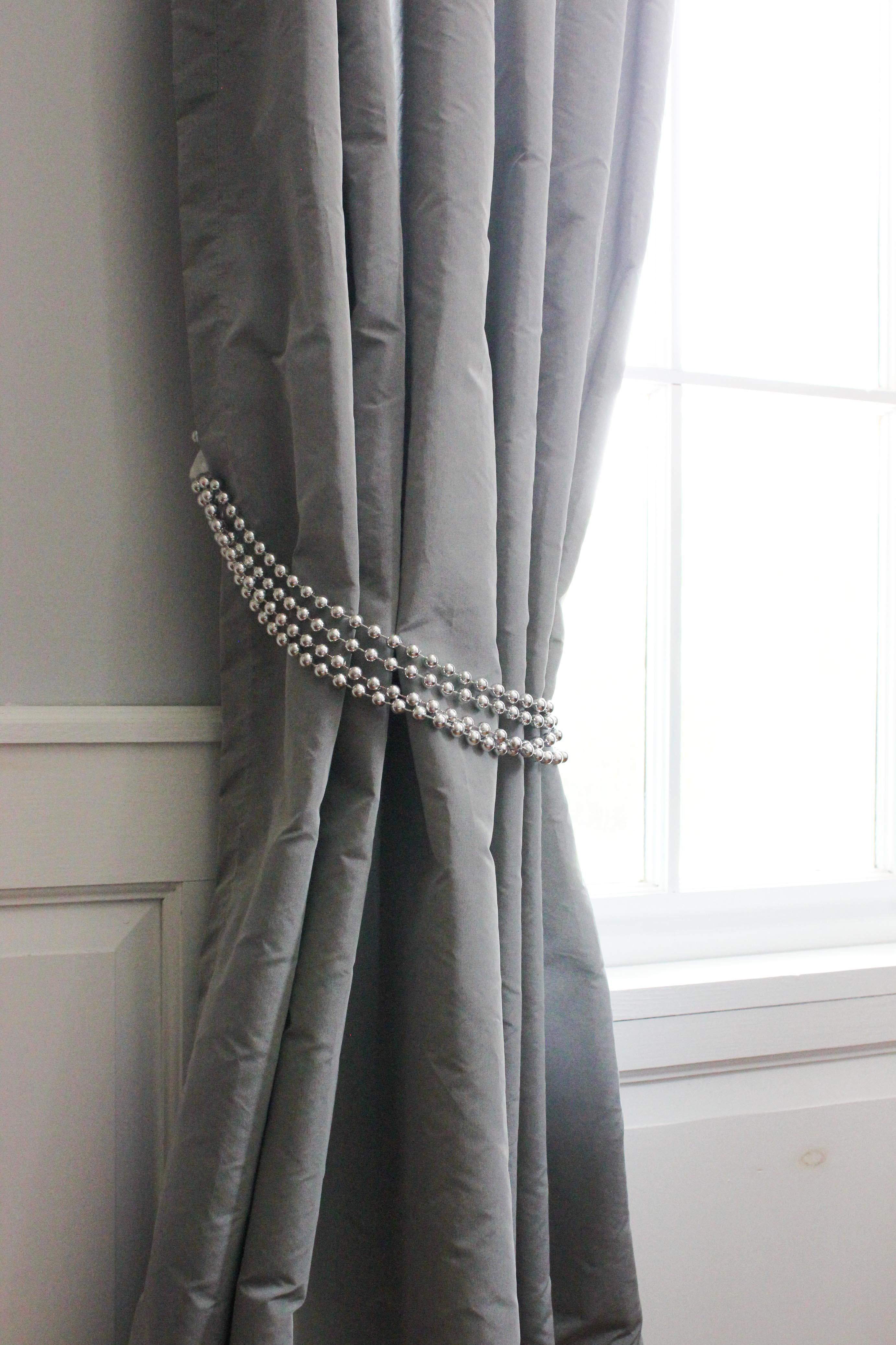 Best ideas about DIY Curtain Tie Back . Save or Pin DIY Decorative Curtain Tie Backs Now.
