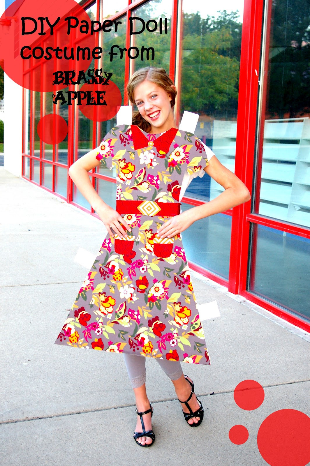 Best ideas about DIY Cute Costume . Save or Pin DIY girls Halloween Costume – paper doll Now.