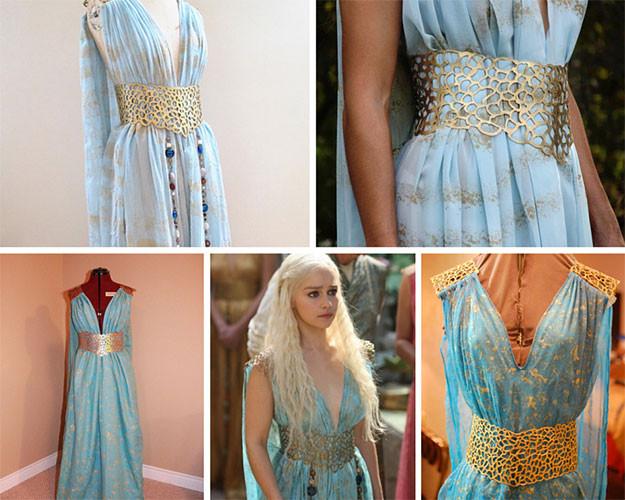 Best ideas about DIY Daenerys Targaryen Costume . Save or Pin How to Daenerys Targaryen Halloween Costume Now.
