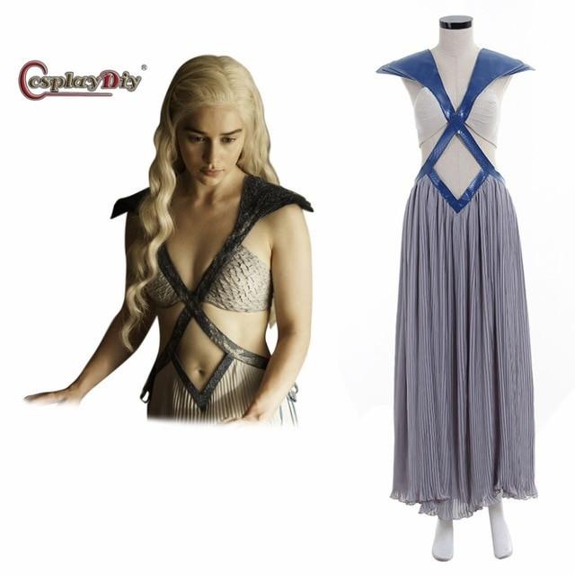 Best ideas about DIY Daenerys Targaryen Costume . Save or Pin Cosplaydiy Daenerys Targaryen Costume Dress Game of Now.