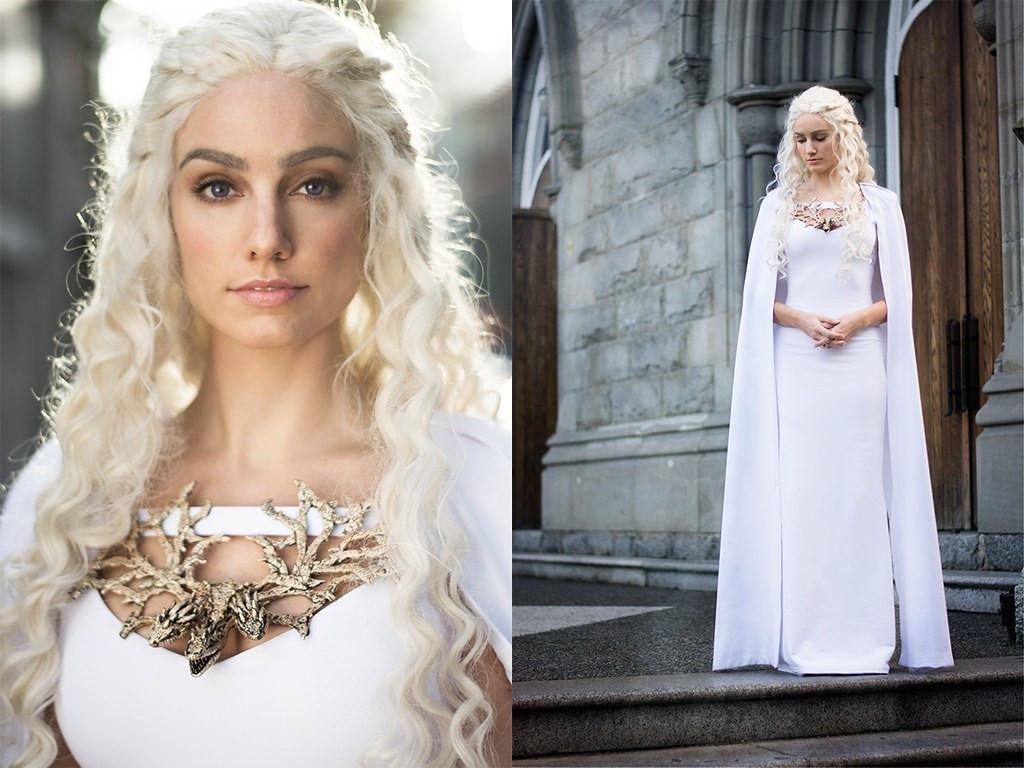 Best ideas about DIY Daenerys Targaryen Costume . Save or Pin My homemade Daenerys Targaryen costume Happy Halloween Now.
