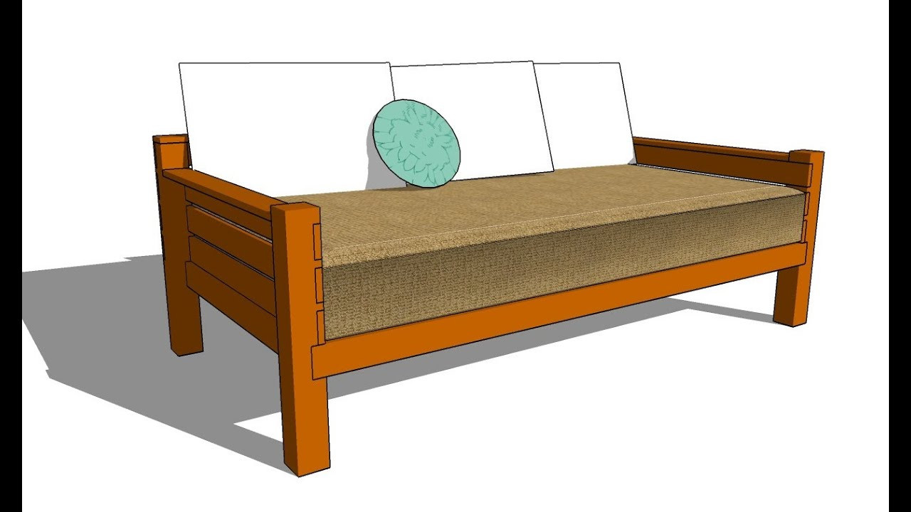 Best ideas about DIY Daybed Frame . Save or Pin How to build a daybed Now.
