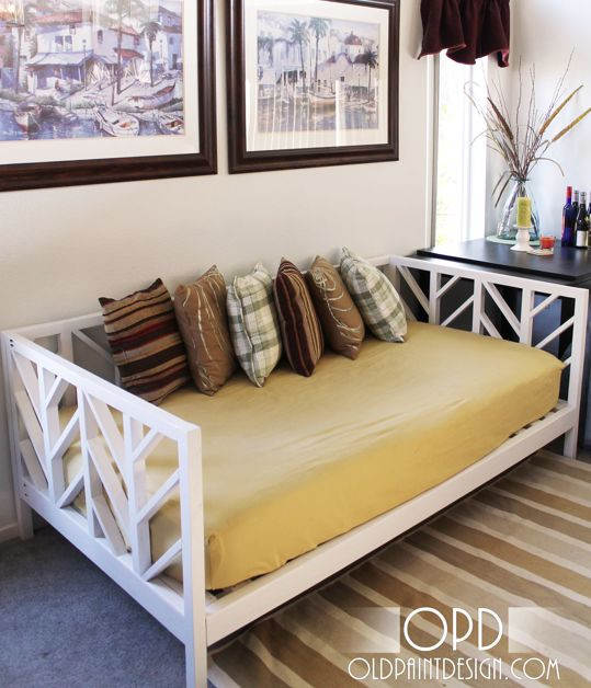 Best ideas about DIY Daybed Frame . Save or Pin Top 25 best Queen daybed ideas on Pinterest Now.