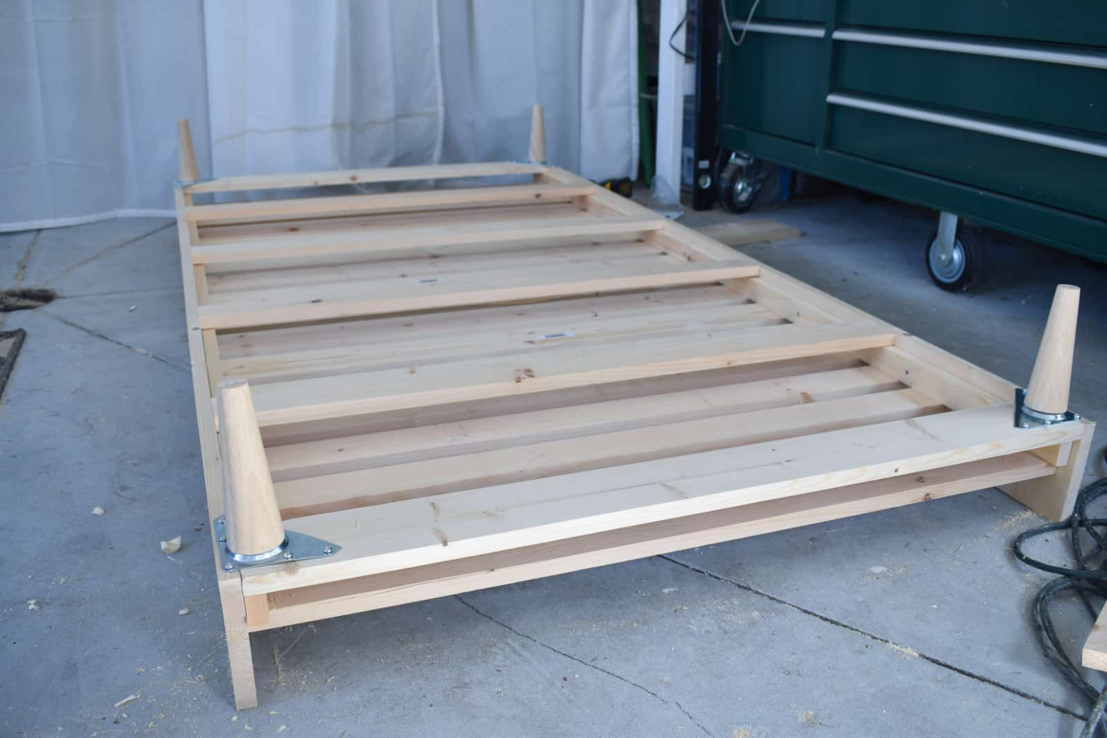 Best ideas about DIY Daybed Frame . Save or Pin DIY Upholstered Daybed Frame At Charlotte s House Now.