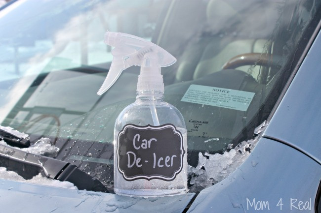 Best ideas about DIY De Icer . Save or Pin 2 Ingre nt Homemade Car De Icer Spray Removes Ice In Now.