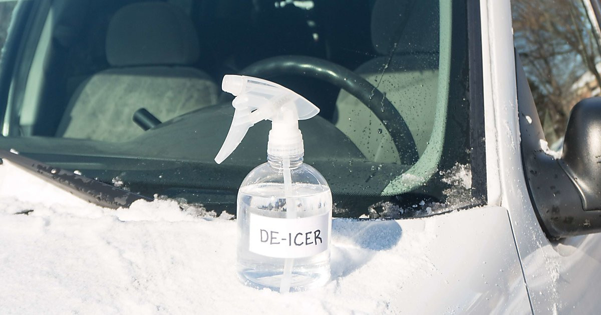 Best ideas about DIY De Icer . Save or Pin Homemade Windshield De Icer Spray Now.