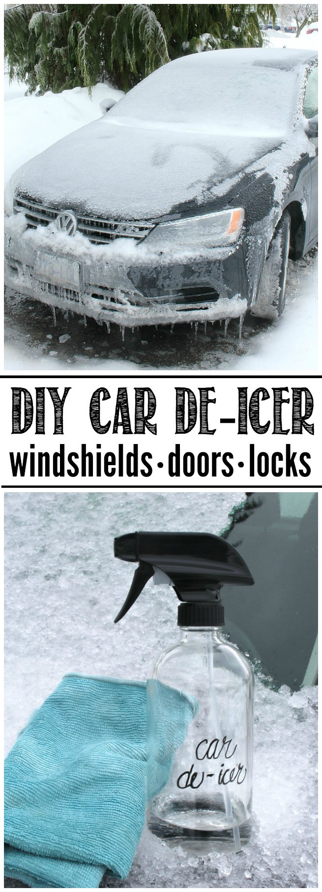Best ideas about DIY De Icer . Save or Pin Simple DIY Car De Icer Clean and Scentsible Now.