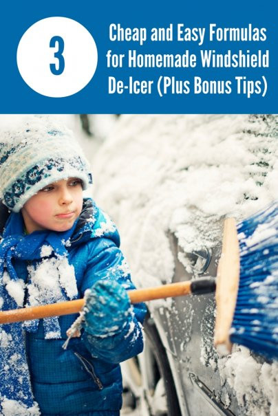 Best ideas about DIY De Icer . Save or Pin 3 Cheap and Easy Formulas for Homemade Windshield De Icer Now.