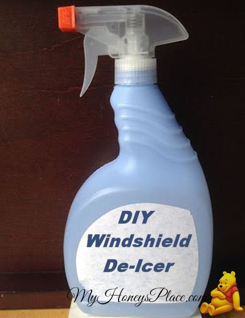 Best ideas about DIY De Icer . Save or Pin DIY Windshield De Icer My Honeys Place Now.