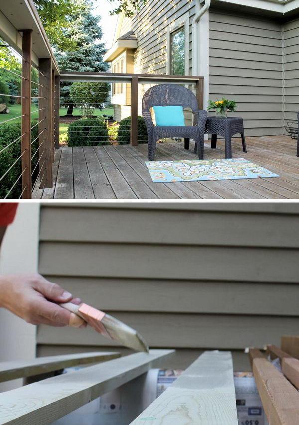 Best ideas about DIY Deck Railing Ideas . Save or Pin 20 DIY Deck Railing Ideas Hative Now.